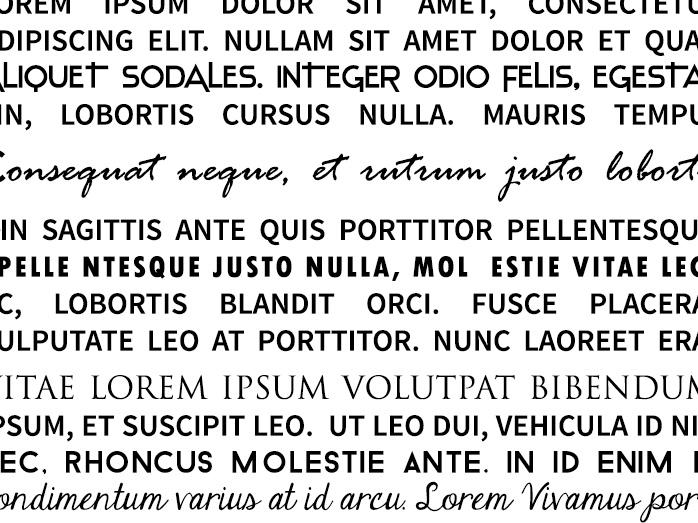 Przydasie: fonty