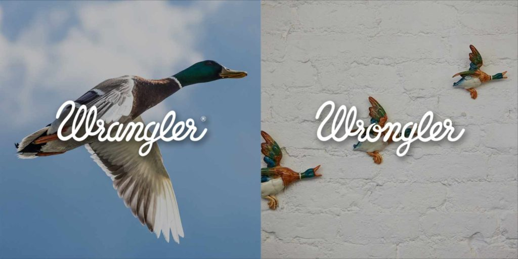 wrangler / wrongler - reklama prasowa // #print #advertising #creative #inspiration