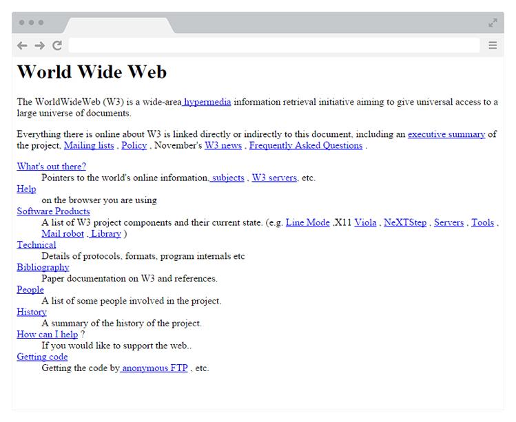 pierwsza strona www