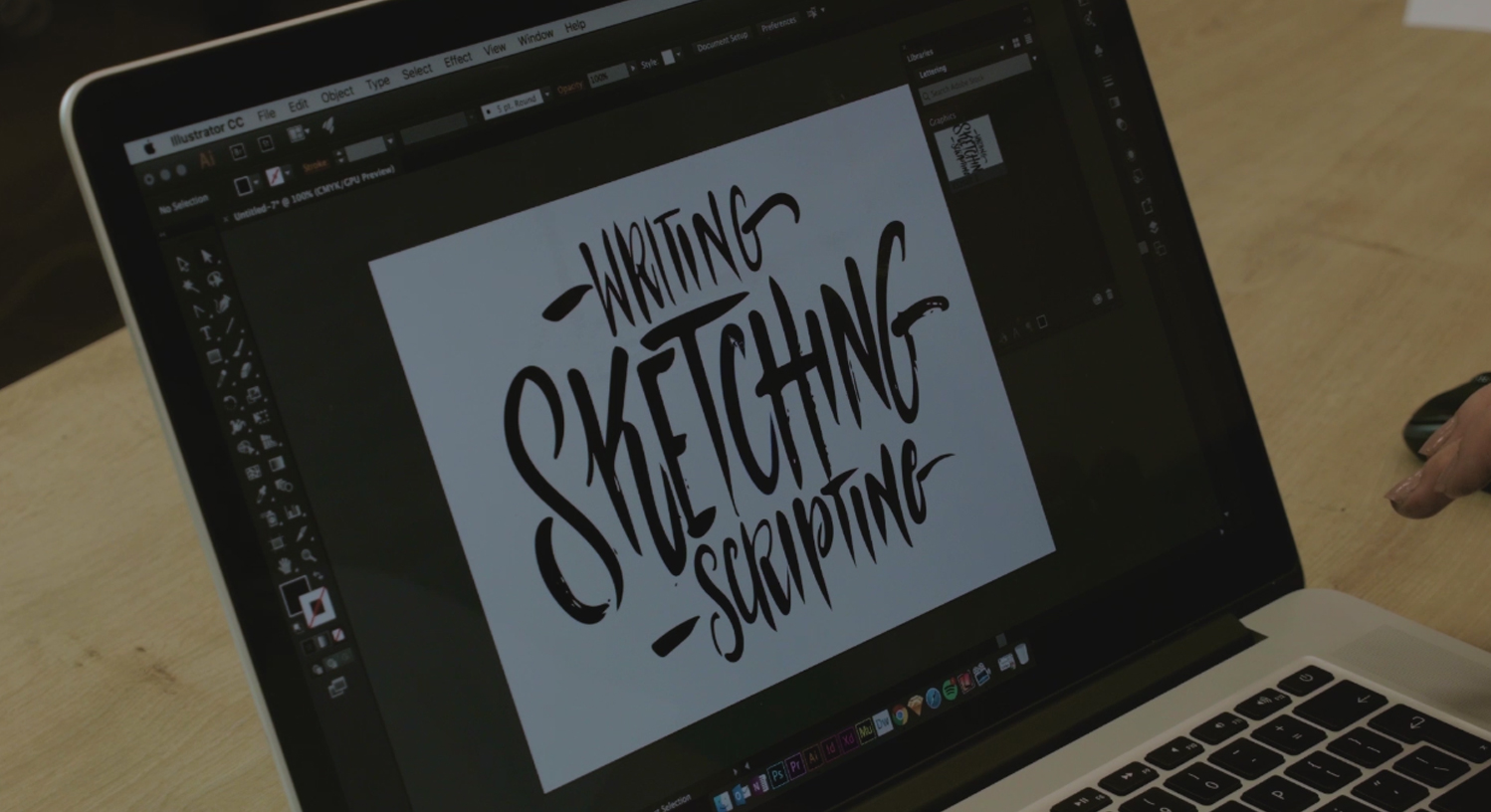 hand lettering kurs