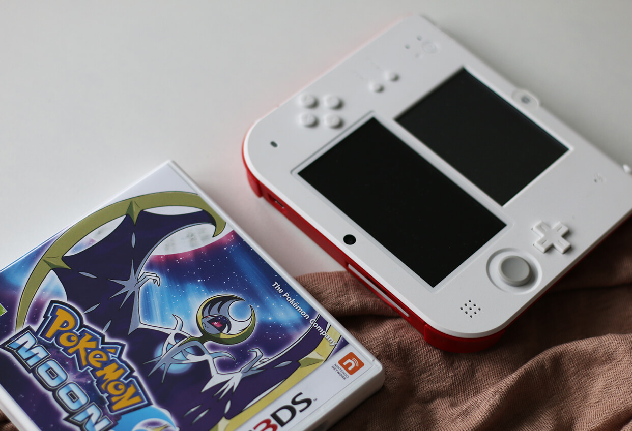 pokemon moon interfejs uzytkownika