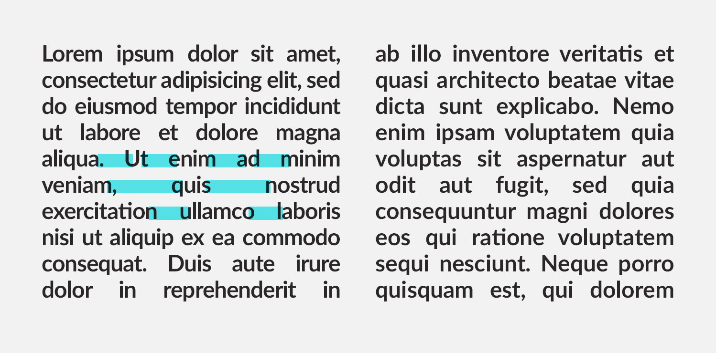rzeki typografia