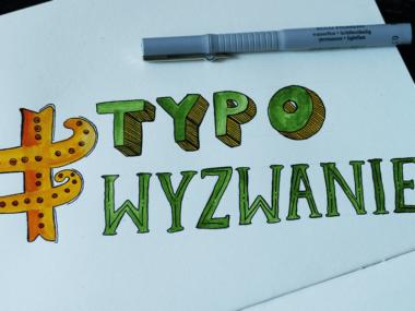 typograficzne wyzwanie
