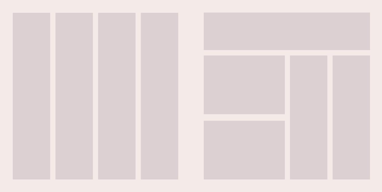 gridy wprojektowaniu strony