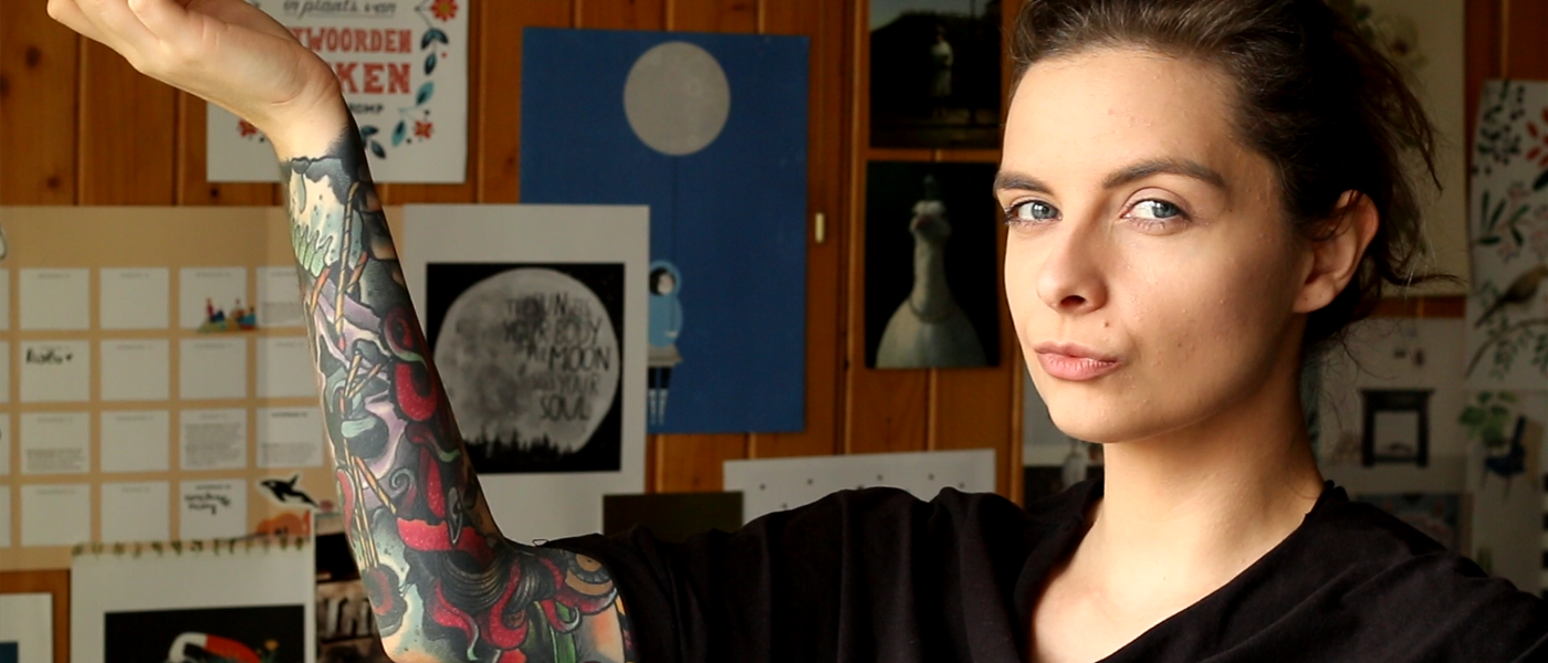 tatuaze w pracy