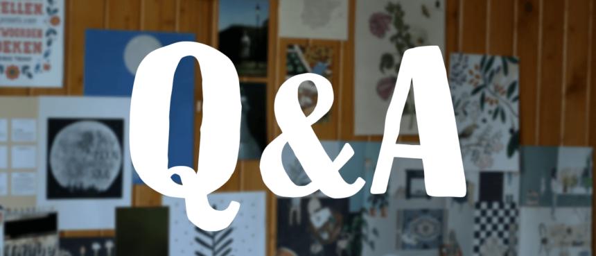 Q&A, czyli pytania, które mi zadajecie