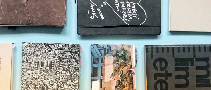 Szkicowniki i notesy – czego używam?