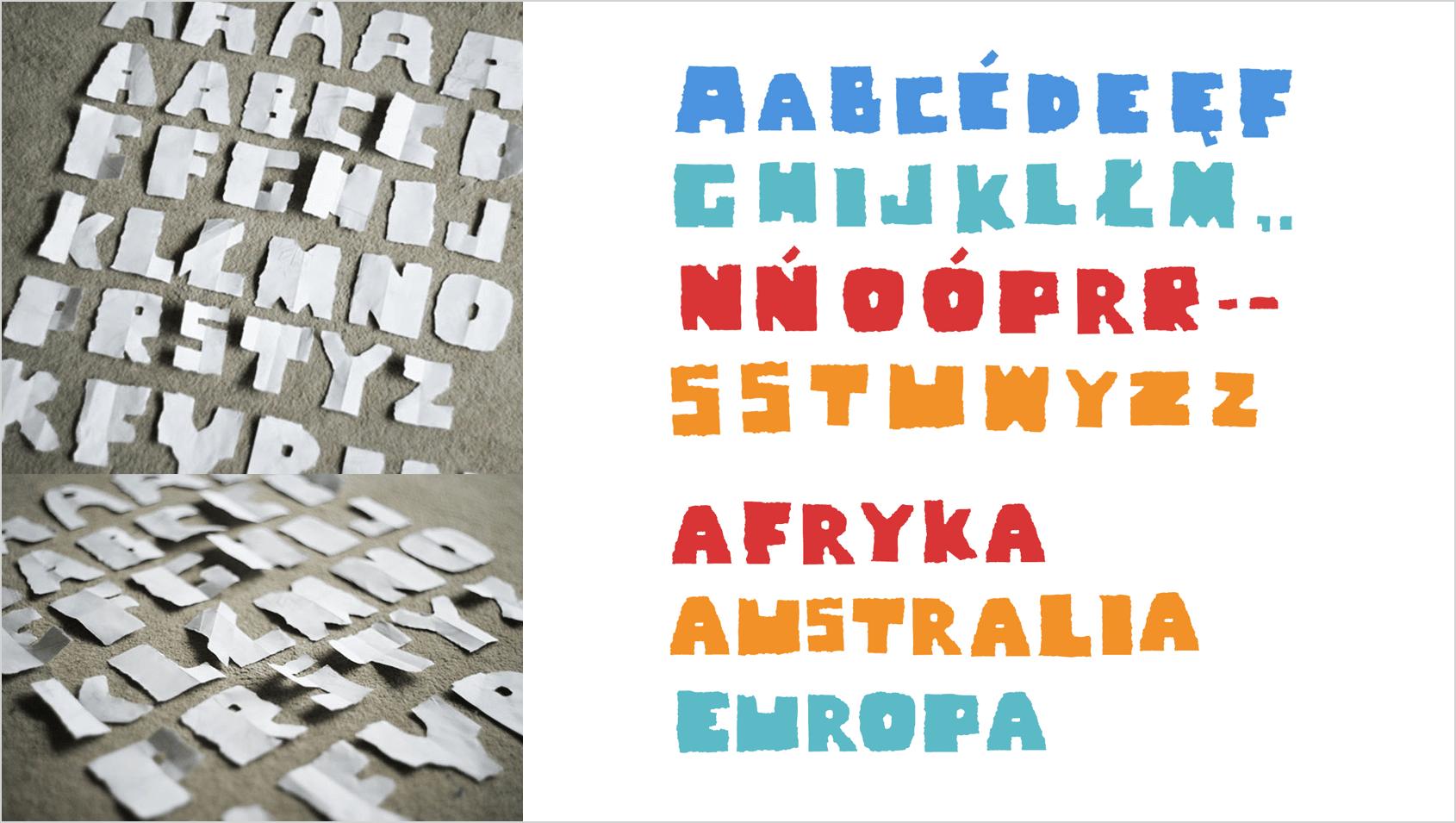 projekt dyplomowy typografia