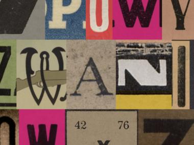 wyzwanie graficzne typograficzne