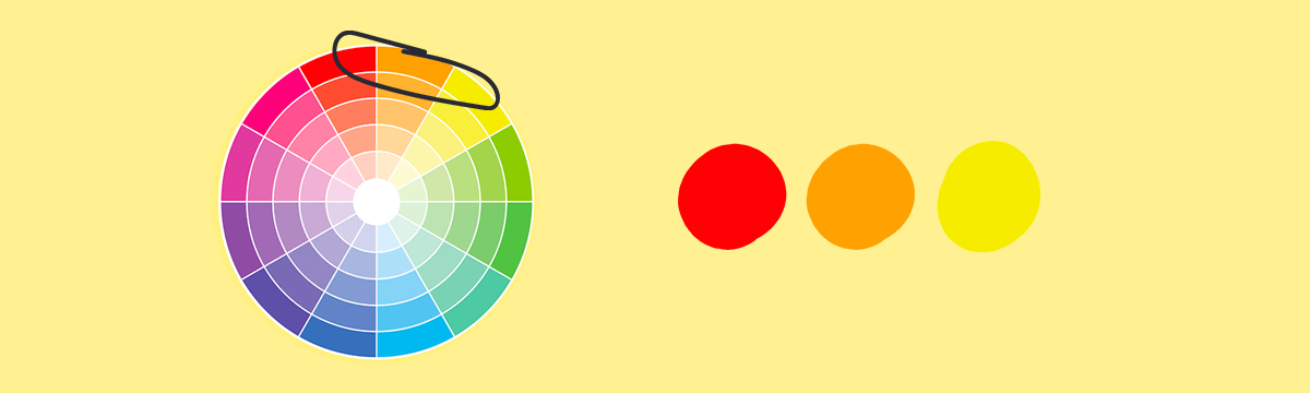 paleta barw analogicznych