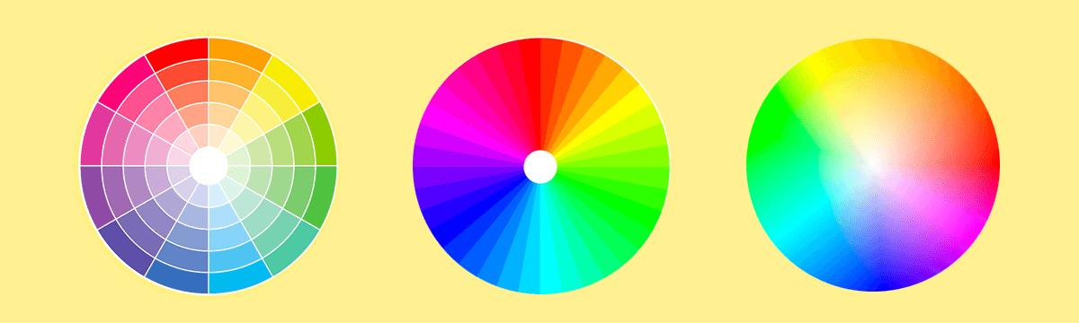 koła barw