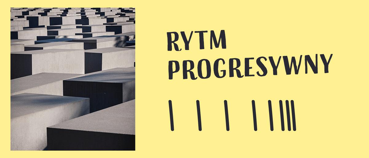 przykładem rytmy progresywnego mogą być zdjęcia z użyciem perspektywy