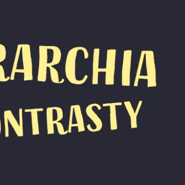 Podstawy projektowania: hierarchia wizualna i kontrasty
