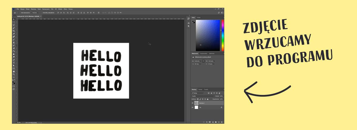 animacja liter