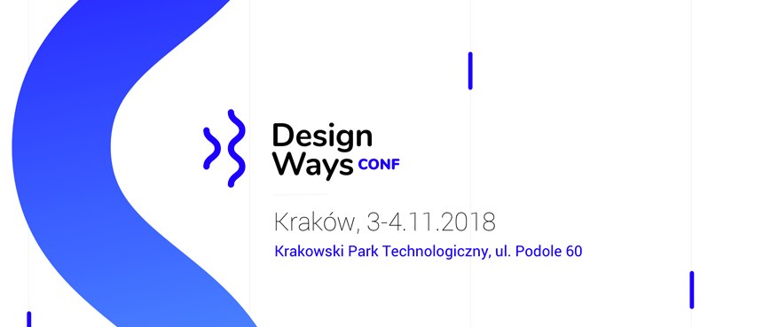 Konkurs: konferencja DesignWays Conf 2018