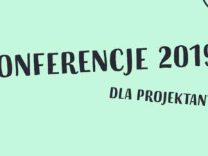 konferencje dla grafików 2019