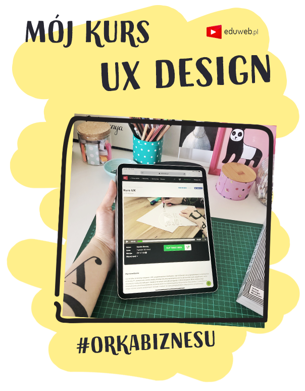 Mój kurs UX Design na eduweb.pl