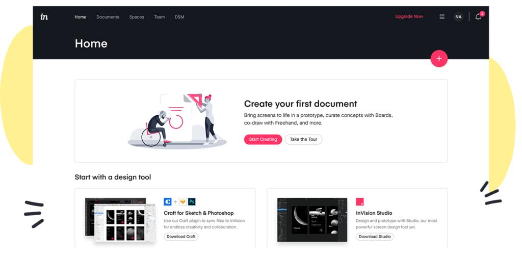 invision app ux design