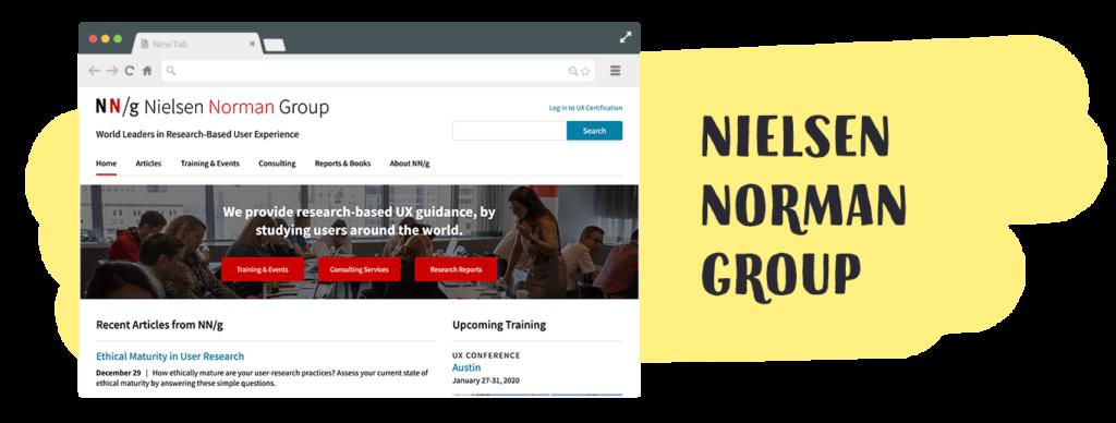 strona Nielsen Norman Group