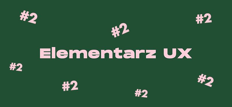 elementarz UX – konkurs