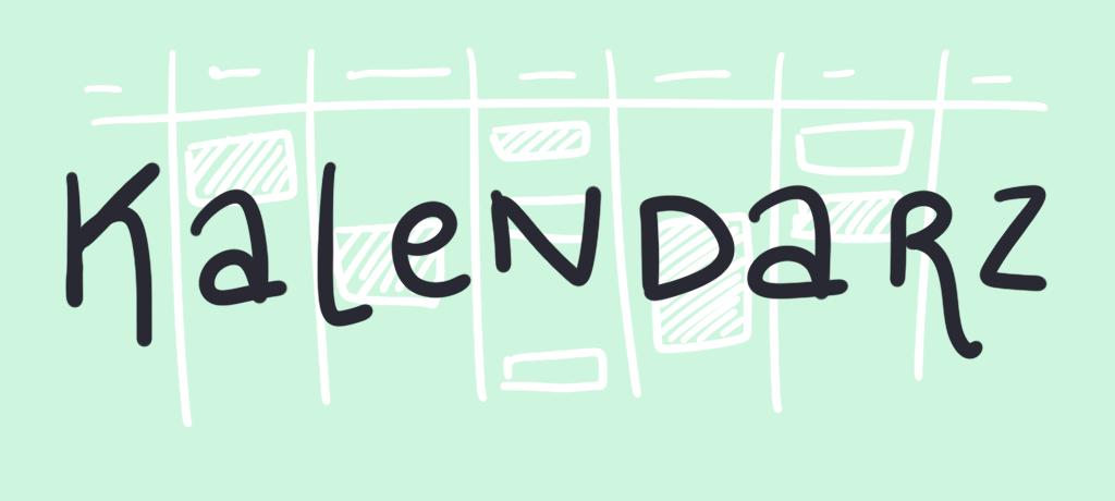 Tytuł graficzny: kalendarz