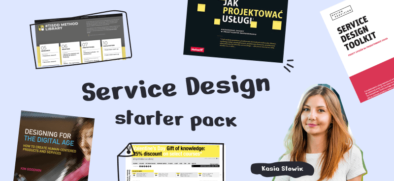 Przykładowe inspiracje z obszaru Service Design